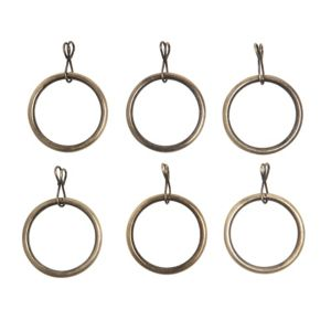 View Colours Traditional Metal Curtain Ring (Dia)28mm details