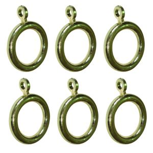 View Colours Plastic Curtain Ring (Dia)19mm details