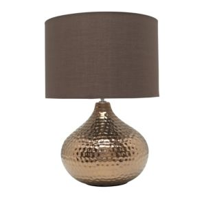 View Massilia Bronze Effect Table Lamp details