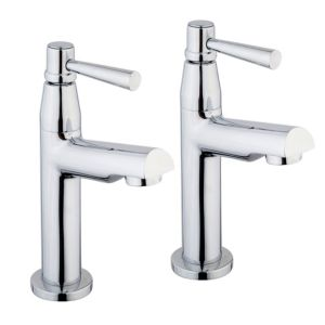 View Cooke & Lewis Saverne Chrome Effect Pillar Tap details