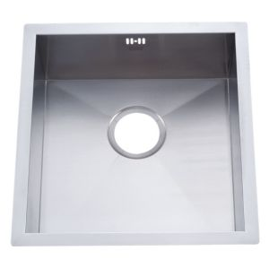 View Cooke & Lewis Nitoite 1 Bowl Stainless Steel Sink details