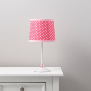 View Suisei Polka Dot Pink & White Table Lamp details