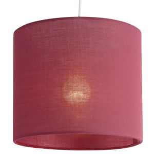 View Colours Haymarket Fuchsia Light Shade (D)20cm details