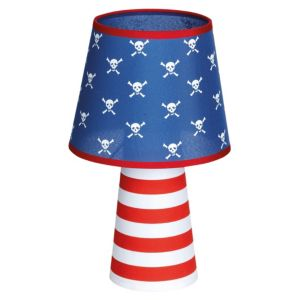 View Sonne Blue, Red & White Table Lamp details