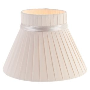 View Colours Carme Cream Ribbon Light Shade (D)20cm details