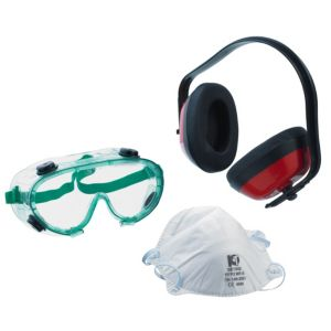 View B&Q Ear Defenders, Mask & Goggles details