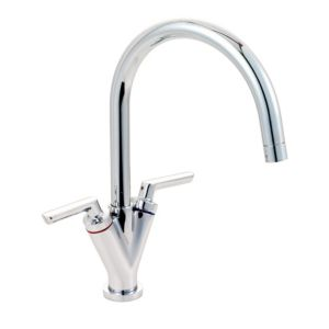 View Cooke & Lewis Reno Chrome Effect Monobloc Tap details