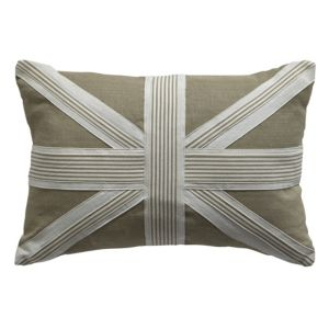 View Colours Camelot Union Jack Beige Cushion details