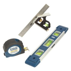View Mac Allister Blue Measuring Tool (L)225mm details