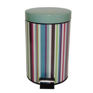 View Cooke & Lewis Multicolour Steel Two Tone Pedal Bin 3L details