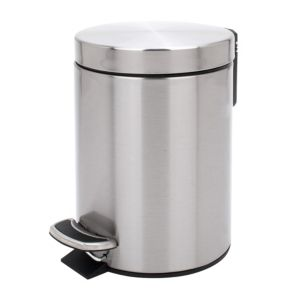 View Cooke & Lewis Stainless Steel Soft Close Kitchen Pedal Bin 5L details