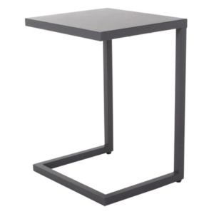 View Grafite Metal Side Table Dark Grey details