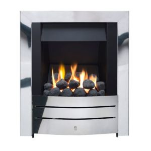 Image of Ignite Maine Black Manual Control Inset Gas fire