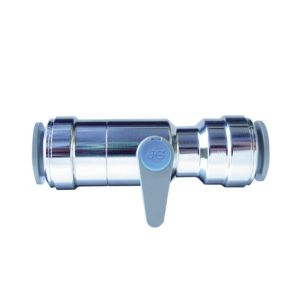 View JG Speedfit (Dia)15mm Chrome Ball Valve details
