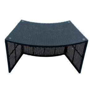 Image of Rattan effect Spa bar table