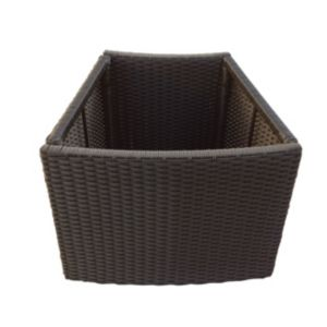 Image of Brown Spa planter (H)580mm (L)450mm