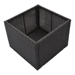 Image of Brown Spa square planter (H)550mm (L)430mm