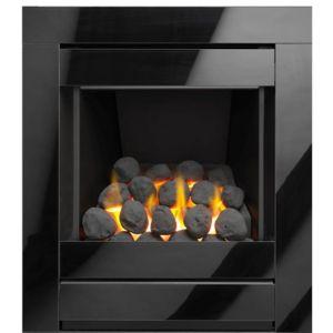Image of Sirocco Ignite Cristal Black Gas Fire