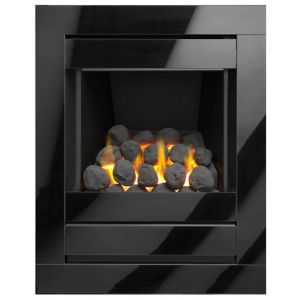 Image of Cristal Black Gas Fire