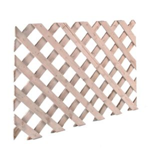View Timber Lattice Trellis Panel (H)620mm (W)2.44m details