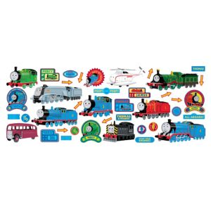 View Fun4Walls Thomas The Tank Engine Wall Stickers (L)460mm x (W)250mm details