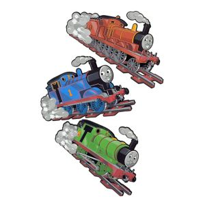 View Fun4Walls Thomas The Tank Engine Self Adhesive Wall Stickers (L)300mm (W)210mm details