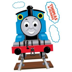 View Fun4Walls Thomas The Tank Engine Self Adhesive Wall Stickers (L)750mm (W)72mm details