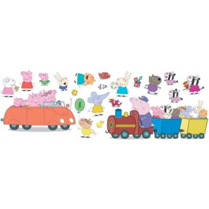 View Peppa Pig Self Adhesive Wall Stickers (L)340mm (W)340mm details