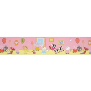 View Fun4Walls Peppa Pig Multicolour Childrens Border details