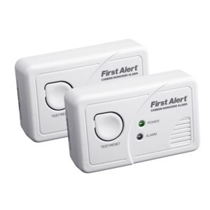 View First Alert LED Display Carbon Monoxide Detector, Pack of 2 details