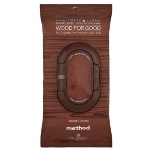 View Method Wood Surface Wipes, Pack of 30 details