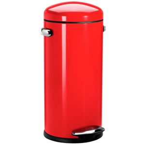 View Simplehuman Red Stainless Steel Kitchen Pedal Bin 30L details