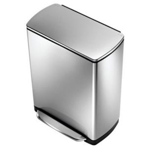 View Simplehuman Stainless Steel Kitchen Pedal Bin 50L details