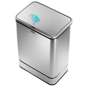 View Simplehuman 40L Stainless Steel Kitchen Sensor Bin details