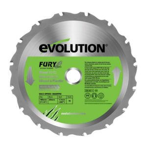 View Evolution 16T Multi Purpose Circular Saw Blade (Dia)185mm details