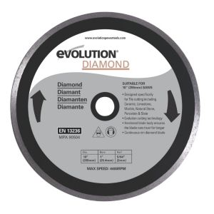 View Evolution Fury (Dia)255mm Continuous Mitre Saw Blade details