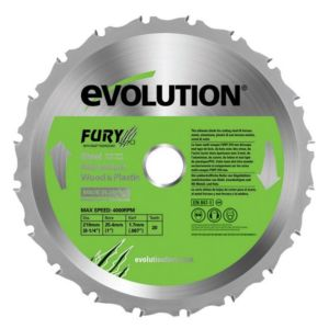 View Evolution 20T Mitre Saw Blade (Dia)210mm details