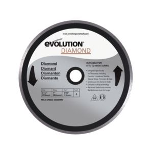 View Evolution Fury (Dia)210mm Continuous Mitre Saw Blade, 1 details