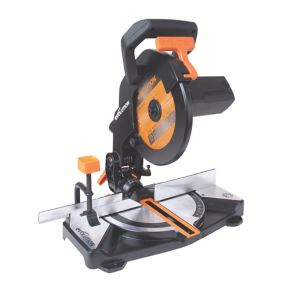 Image of Evolution 1200W 240V 210mm Compound mitre saw R210CMS