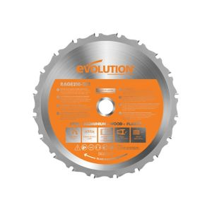 Image of Evolution Rage Circular saw blade (Dia)185mm