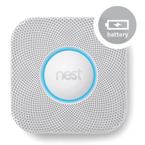 View Nest Protect Smoke + Carbon Monoxide Alarm, Battery Powered details