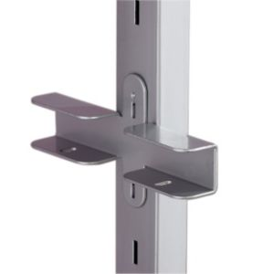 View Home Decor Stainless Steel Effect Shelf Bracket details