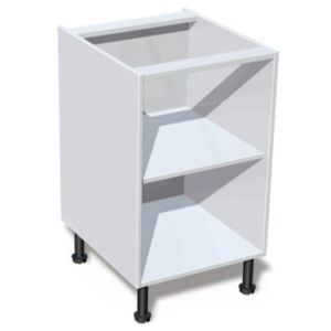 View IT Kitchens White Base Cabinet Unit Carcass (W)500mm details