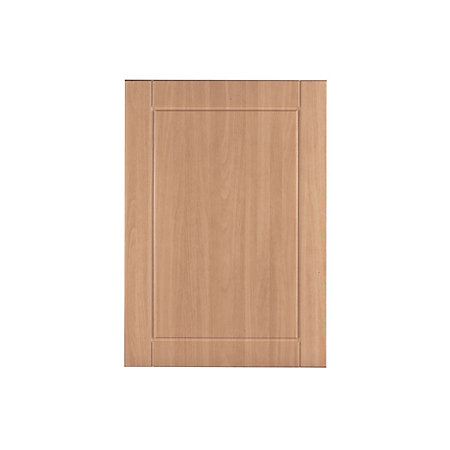 It kitchens chilton beech effect standard door w 500mm for Beech effect kitchen base units