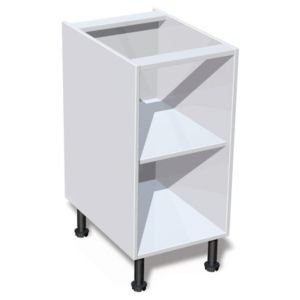 View IT Kitchens White Base Cabinet Unit Carcass (W)400mm details