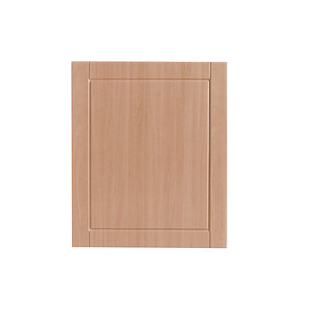 It kitchens chilton beech effect standard door w 600mm for Kitchen cabinets 600mm