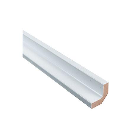It kitchens base corner post gloss white style h 720mm w for White gloss kitchen corner unit