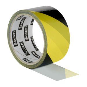 Image of Scotch Black & yellow Marking tape (L)33m (W)50mm