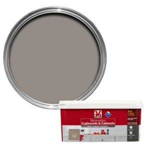 V33 Renovation Taupe Smooth Satin Kitchen Cupboard & Cabinet Paint 2 L
