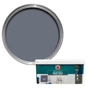 V33 Renovation Blueberry Satin Wall Tile Paint 2L
